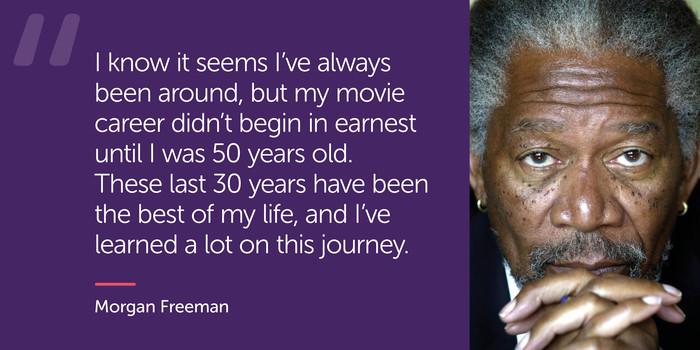 Morgan Freeman: UNIDOP 2019
