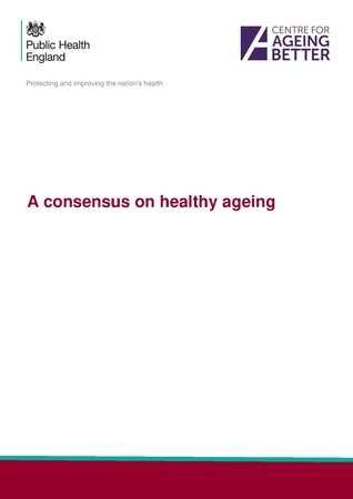 A consensus on healthy ageing