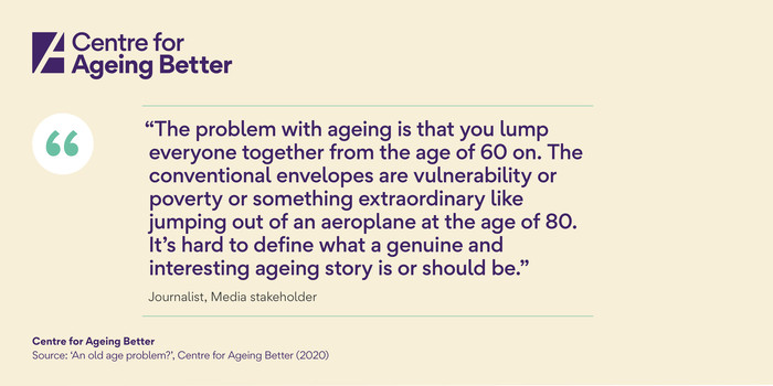 Quote: An old age problem?