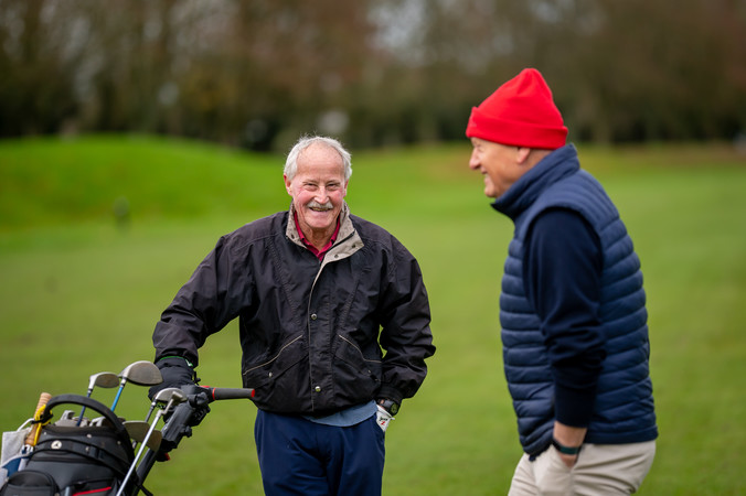 Physically active older men