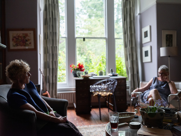 Women sitting and talking