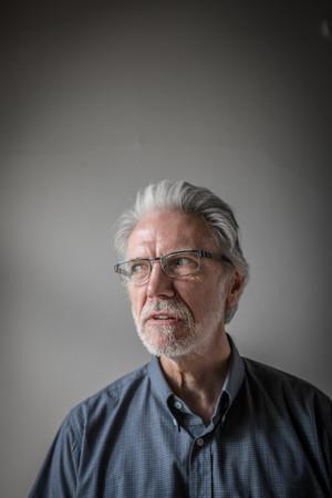 Man glasses portrait