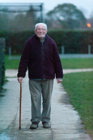 Man out for walk