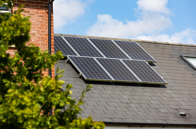 Solar panels - #OlderAndGreener